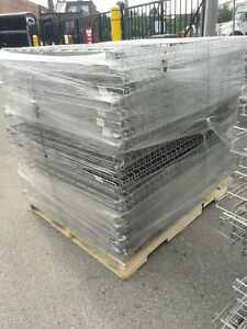 Pallet Rack Wire Decking 58 X 42 Silver