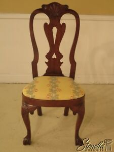 43921ec Kittinger Cw 146 Colonial Williamsburg Mahogany Queen Anne Chair