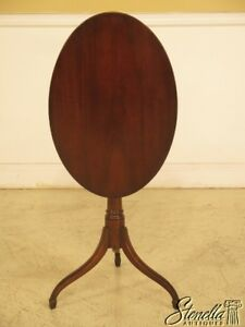 44064ec Kittinger Cw 135 Colonial Williamsburg Mahogany Tilt Top Table