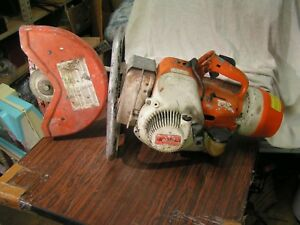 Stihl Ts 350 Concrete Saw Used But Works Great