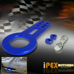 For Honda Jdm Civic Accord Anodized Front Tow Hook Blue Aluminum Racing Towing