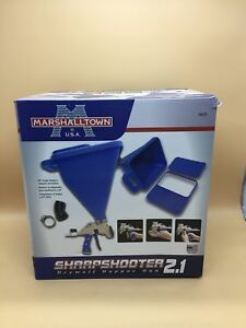 New Marshalltown Sharpshooter 2 1 Drywall Texture Hopper Gun Sprayer