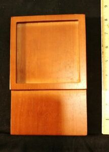 Mahogany Note Pad Holders lot Of 19 Holds 4 25 Sublimated Tile N Post It Note