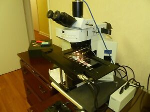 Olympus Bx61 Wi Transmitted Reflected Fluorescent Light Trinocular Microscope