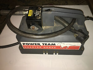 Spx Power Team Pr102 Quarter Horse Electric Portable 2 speed Pump
