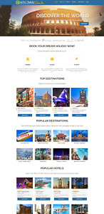 Hotels Flights Compare Bookings Travel Vacation Website For Sale