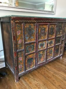 Antique Chinese Cabinet Dresser