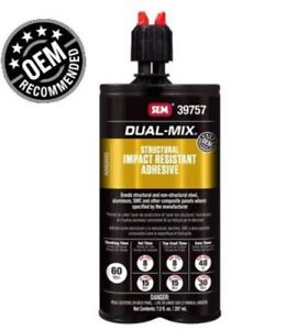 sem 39757 Dual mix Structural Impact Resistant Adhesive New