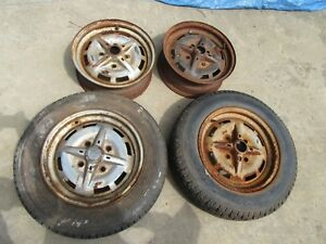 Porsche 914 Factory Styled Wheel Set Date Stamped 6 74 91436101600