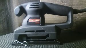 Craftsman 1 3 Sheet Pad Sander Double Insulated New