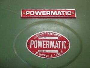 Powermatic 141 14 Bandsaw Upper Door Cover Sheet Metal Very Nice Band Saw Parts