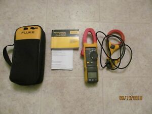 Fluke 381 True rms Ac dc Clamp Meter With Iflex Access