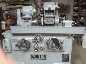 Norton Universal O d I d Automatic Grinder In Excellent Refurbished Condition