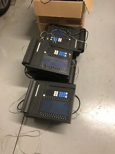 Lot Of 10 Sable Technologies Ct90 Mk1 1 Pos Terminals Accompanying Gear