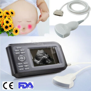 Fda Handheld Full Digital Ultrasound Scanner Machine Handscan Convex Probe Human
