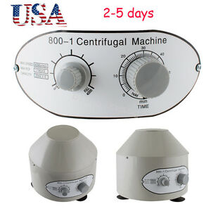 Usa 25w Electric Centrifuge Machine 4000rpm Lab Medical Practice 4000rpm Fda