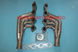 Stainless Steel Turbo Manifold Exhaust Header For Big Block 396 572 6 5 9 4 Bbc