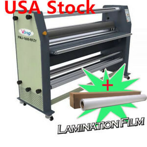 Usa 110v 60hz 63 High End Full Auto Wide Format Hot Laminator With Stand