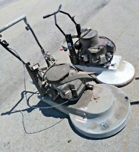 Betco Propane Floor Buffer Burnishers 4 Parts Or Repair Two Maintenance Machines