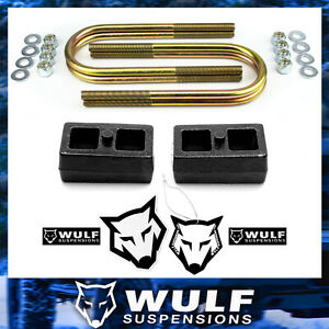 1 Rear Lift Kit 2002 2005 Dodge Ram 1500 4x4 4wd Blocks And U Bolts Suspension
