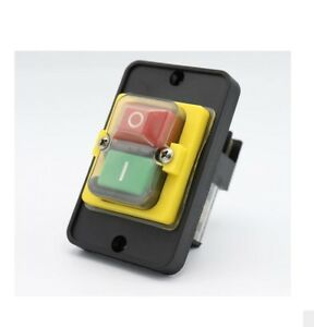 Kjd12 250v 16a Waterproof Electromagnetic Switch Electronic Push Button Switche