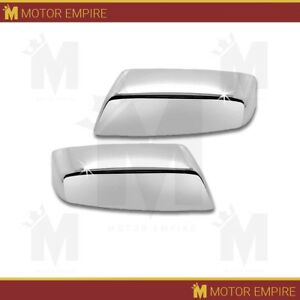 Chrome Top Half Mirror Cover Fits 2014 2018 Gmc Sierra 1500