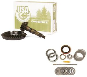 1972 1998 Gm 8 5 Chevy 10 Bolt 4 56 Ring And Pinion Mini Install Usa Gear Pkg