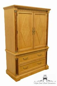 Stanley Furniture Italian Provincial 42 Door Chest Armoire 454 13 12