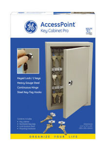 Ge Key Cabinet Easy Access Pro Storage Lock Box