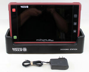 Matco Maximus 2 0 Professional Automotive Diagnostic Scanner Tablet V4 04 006
