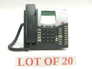 Lot 20 Inter tel 8520 Axxess Digital Endpoint Display Business Phone Telephone