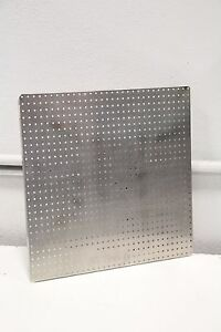 24ga 1 8 Holes Stainless Steel Perforated Peperated Sheet 14 X 14