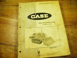 Case 310g Parts Catalog S n 3023001 After A920