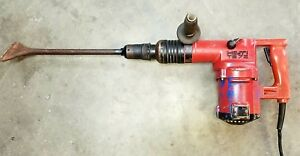 Hilti Te 72 Demolition 115v Corded Rotary Hammer Drill With Chisel Bit