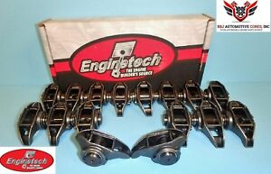 16 Enginetech Chevy Ls3 L92 6 0 6 2 Rocker Arms With Updated Trunion Kits