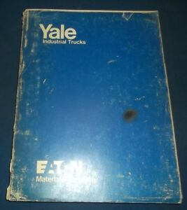 Yale Esc 2000 2500 3000 Lb 020 030 Forklift Lift Truck Parts Manual Book 1354