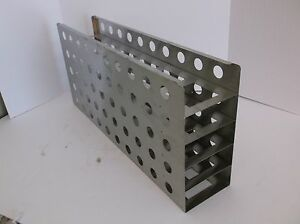 Ss Stainless Steel Cryo Freezer Rack Cryogenic Cryostore 26 X 12 X 5 5
