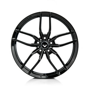 20 Vorsteiner V ff 105 Forged Concave Gloss Black Wheels Rims Fits Ferrari 458