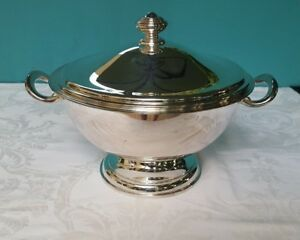 Christofle Hotel Silverplate Neptune Soup Tureen 41144423