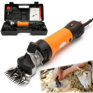 Sheep Shears Electric Clippers For Goats Alpacas Llamas Thick Heavy Duty Animals