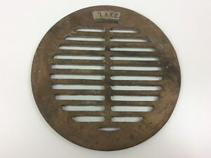 Blake Brass Round Floor Drain Grate 9 Od 8 Id For lake 3 16 Thick Outer Lip