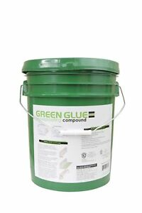 Green Glue Noiseproofing Compound Five Gallon Pails Buckets