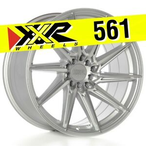 Xxr 561 18x10 5 100 5 114 3 20 Machined Silver Wheels Set Of 4