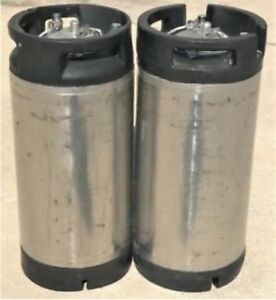 2 Corny Cornelius Keg 5 gallon Beer soda kombucha Wine Pin Lock Keg Homebrewing