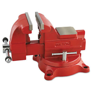 Jet 191 6 In Cast iron Utility Vise 6 Jaw Opening 6 Jaw Width 62 6 Lbs New