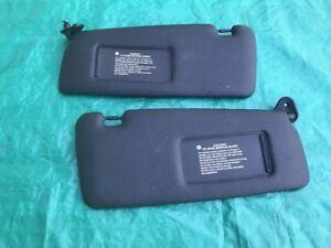94 99 Bmw 3 Series M3 E36 Oem Sun Visors Shades Stock Factory Black Wear