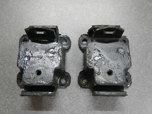 1966 Buick Wildcat Electra Motor Mounts Pair 401 425 Nailhead Engine Mount 66