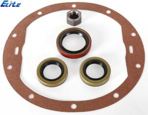 Chevy 12 Bolt Car Elite Re Seal Kit Pinion Axle Seals Pinion Nut Cover Gasket