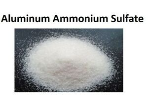Aluminum Ammonium Sulfate Dodecahydrate Crystal 1kg 1000grams Poly Bottle