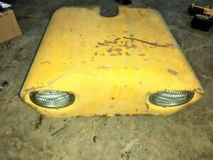 Case 530 Tractor Original Front Hood Assembly With Lights 540 630 Nose Cone